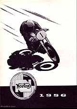 1956 Norton motorcycle brochure