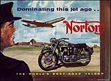 1958 Norton motorcycle brochure