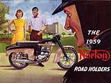 1959 Norton motorcycle brochure