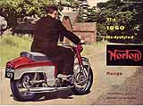 1960 Norton motorcycle brochure