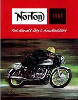 1963 Norton motorcycle brochure