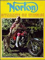 1967 Norton motorcycle brochure