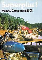 1973 Norton motorcycle brochure