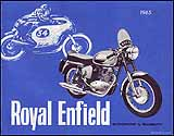 1965 Royal Enfield motorcycle brochure