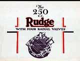 1931 Rudge motorcycle brochure
