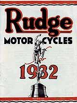 1932 Rudge motorcycle brochure