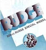 1936 Rudge 500 Special motorcycle brochure