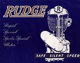 1937 Rudge motorcycle brochure