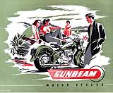 1953 Sunbeam motorcycle brochure