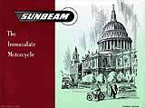 1954 Sunbeam motorcycle brochure