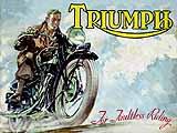 1936 Triumph motorcycle brochure