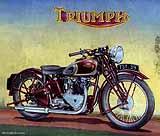 1939 Triumph motorcycle brochure