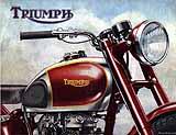 1947 Triumph motorcycle brochure