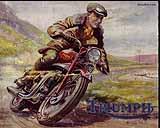 1948 Triumph motorcycle brochure