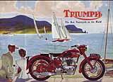 1950 Triumph motorcycle brochure