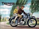1951 Triumph motorcycle brochure