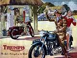 1952 Triumph motorcycle brochure