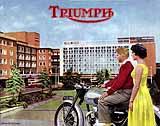 1956 Triumph motorcycle brochure