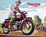 1959 Triumph motorcycle brochure