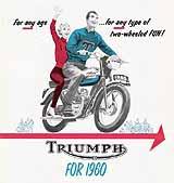 1960 Triumph motorcycle brochure