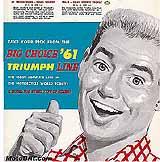 1961 Triumph motorcycle brochure