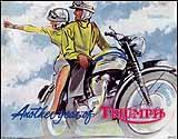 1962 Triumph motorcycle brochure