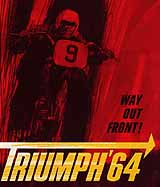 1964 Triumph motorcycle brochure