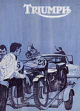 1965 Triumph motorcycle brochure