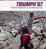 1967 Triumph motorcycle brochure
