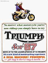 1967 Triumph motorcycle brochure style 2