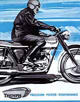 1967 Triumph motorcycle brochure style 3
