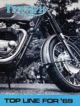 1969 Triumph motorcycle brochure style 3