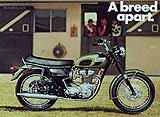 1970 Triumph motorcycle brochure