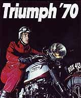 1970 Triumph motorcycle UK brochure