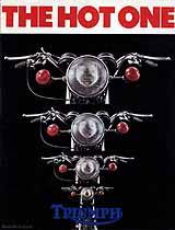 1972 Triumph motorcycle brochure
