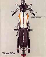 1975 Triumph motorcycle brochure