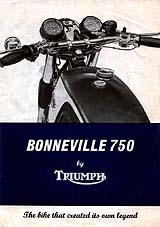1976 Triumph motorcycle brochure