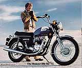 1977 Triumph motorcycle brochure