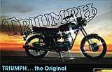 1979 Triumph motorcycle brochure