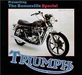 1979 Triumph T140D Bonneville Special motorcycle brochure