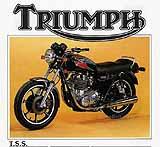 1983 Triumph TSS motorcycle brochure