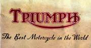 Vintage Triumph Motorcycle brochures