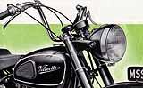 1956 Velocette motorcycle brochure