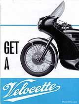 1967 Velocette motorcycle brochure