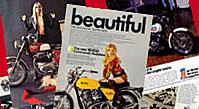 Vintage Motorcycle Advertisements