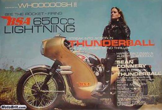 Thunderball Movie Poster