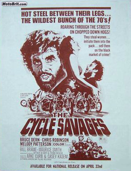 The Cycle Savages Movie Poster