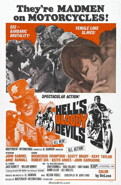 Hell's Bloody Devils Movie Poster