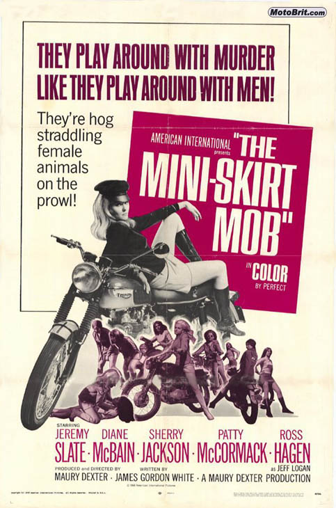 The Mini-Skirt Mob Movie Poster