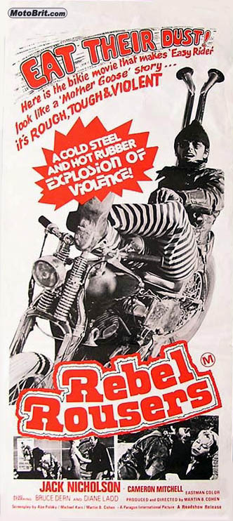 Rebel Rousers Movie Poster